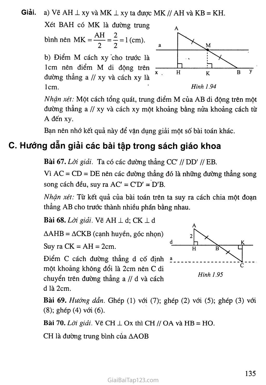 Bài 10. Đường thẳng song song với một đường thẳng cho trước trang 2