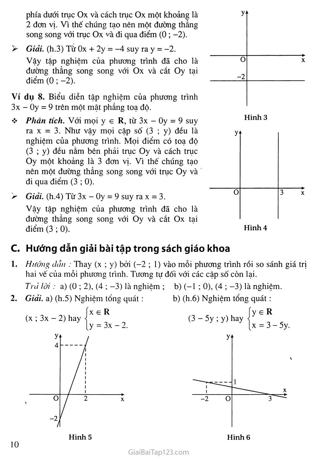 Bài 1. Phương trình bậc nhất hai ẩn trang 6