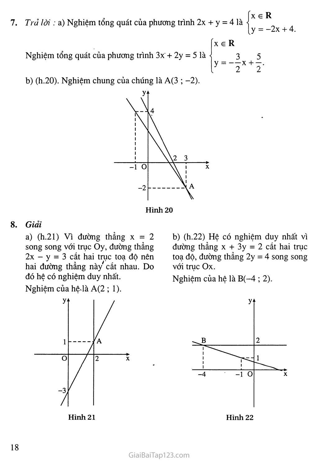 Bài 2. Hệ hai phương trình bậc nhất hai ẩn trang 6