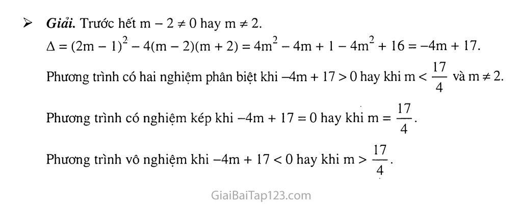 Bài 4. Công thức nghiệm của phương trình bậc hai trang 5