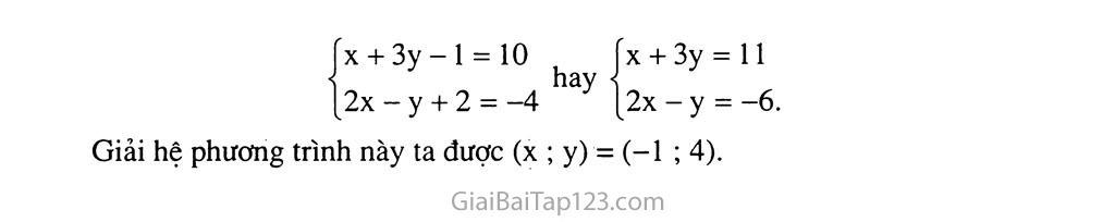 Bài 4. Giải hệ phương trình bằng phương pháp cộng đại số trang 8