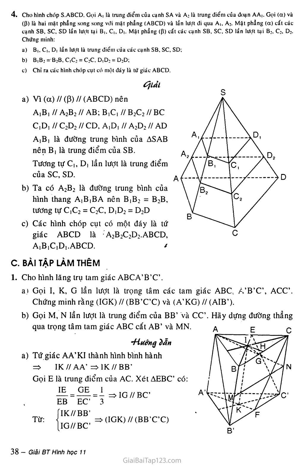 Bài 4. Hai mặt phẳng song song trang 5