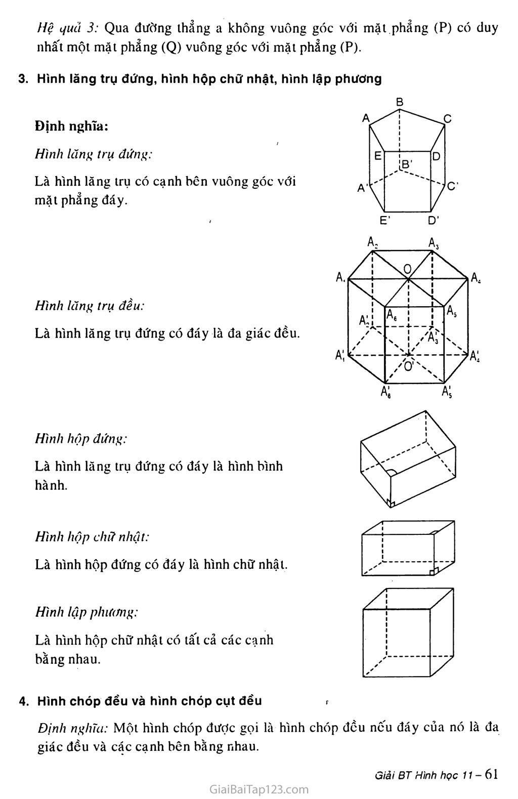 Bài 4. Hai mặt phẳng vuông góc trang 2