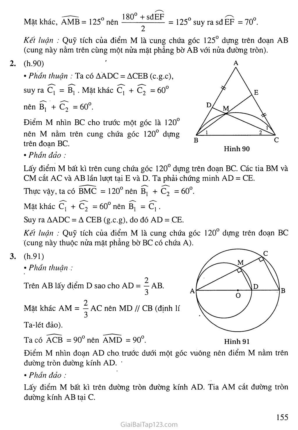 Bài 6. Cung chứa góc trang 8