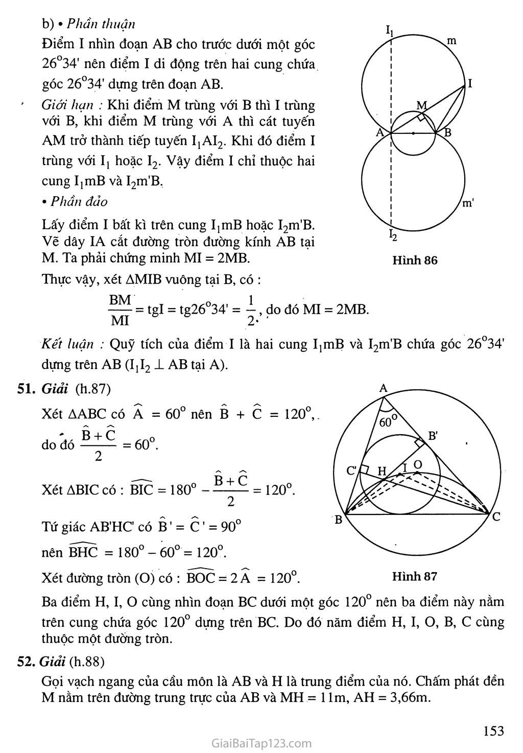 Bài 6. Cung chứa góc trang 6