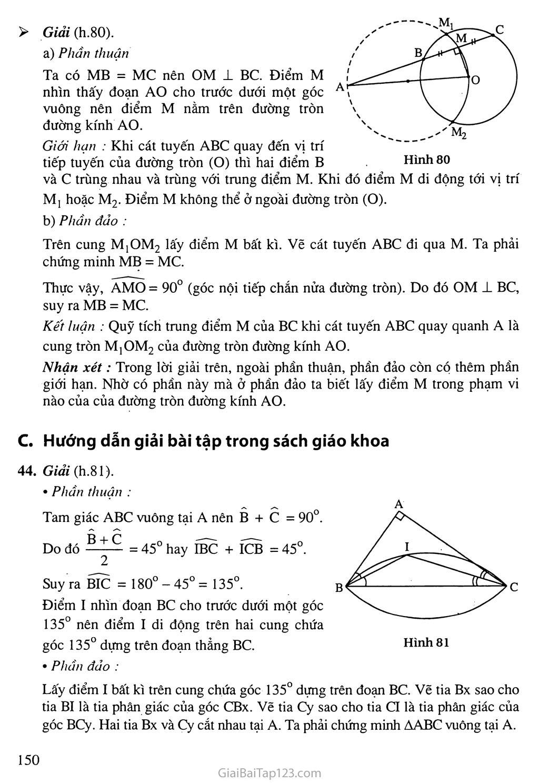 Bài 6. Cung chứa góc trang 3
