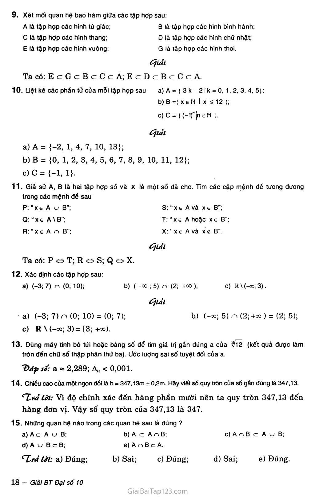 Ôn tập chương I trang 2