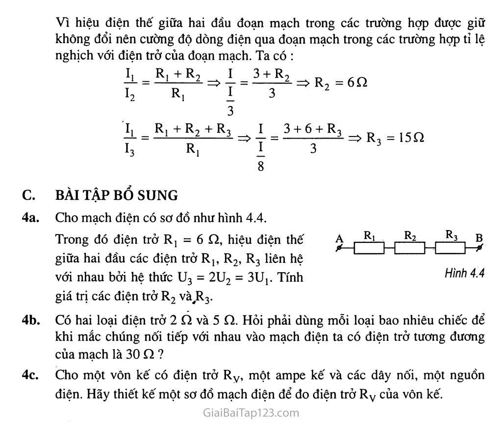 Bài 4: Đoạn mạch nối tiếp trang 5