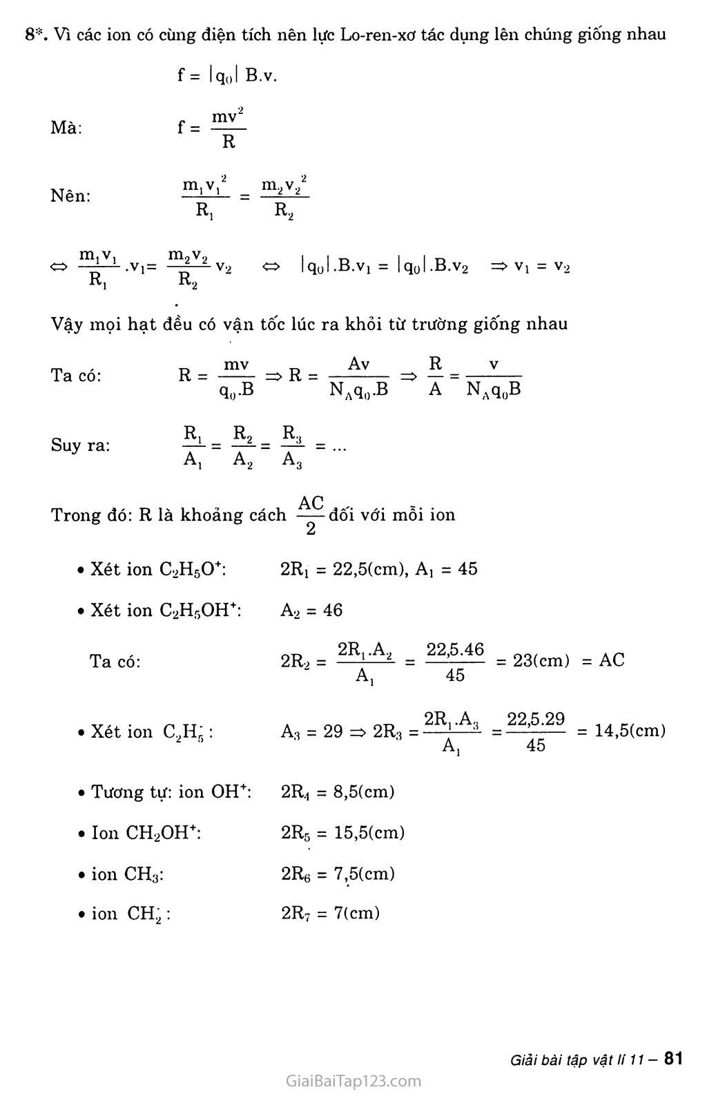 Bài 22: Lực Lo-ren-xơ trang 5
