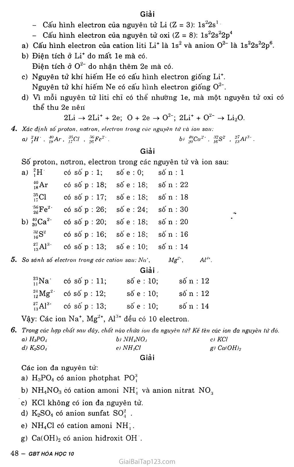 Bài 12:  Liên kết ion - Tinh thể ion trang 3