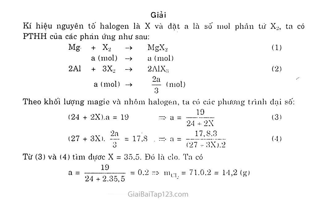 Bài 21: Khái quát về nhóm halogen trang 4