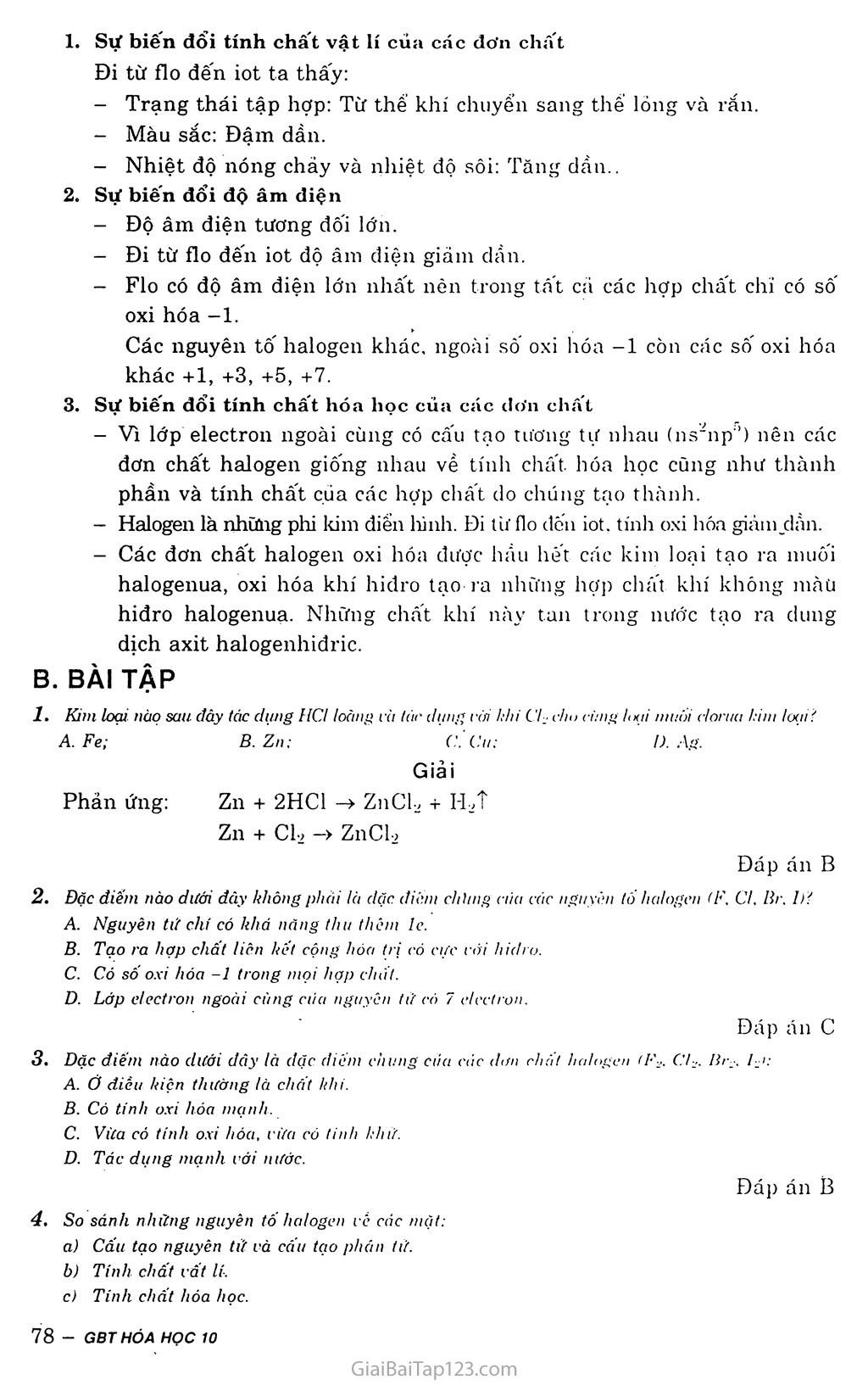 Bài 21: Khái quát về nhóm halogen trang 2