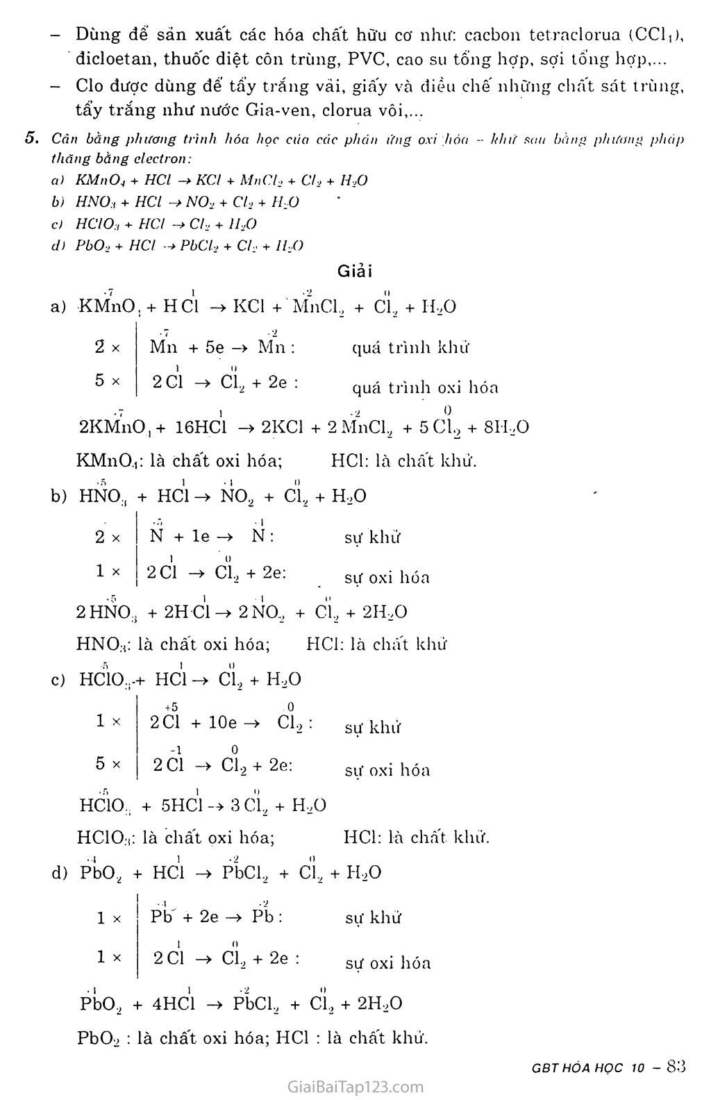 Bài 22: Clo trang 4