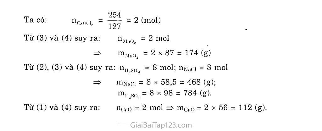 Bài 24: Sơ lược về hợp chất có oxi của clo trang 5