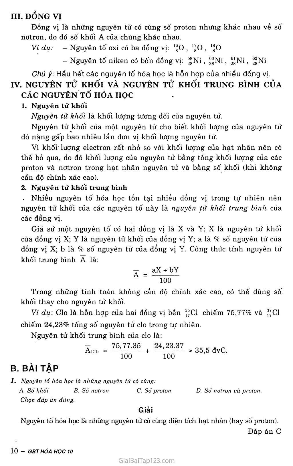 Bài 2: Hạt nhân nguyên tử - Nguyên tố hóa học - Đồng vị trang 3