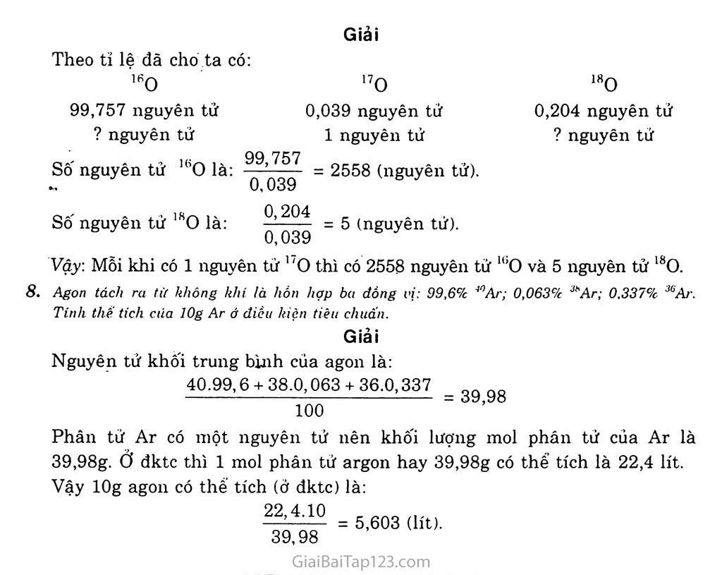 Bài 2: Hạt nhân nguyên tử - Nguyên tố hóa học - Đồng vị trang 6