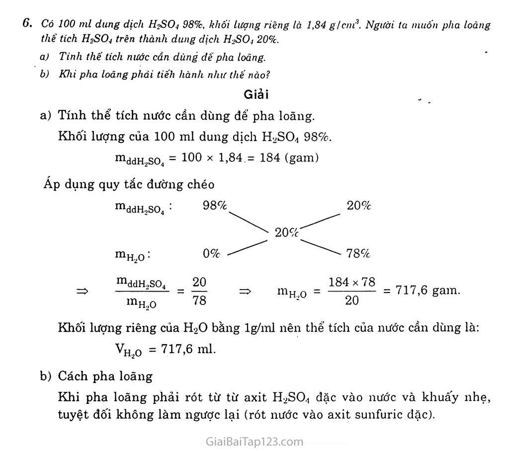 Bài 33: Axit sunfuric - Muối sunfat trang 5