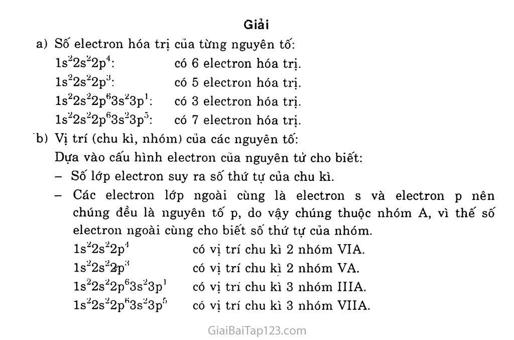 Bài 8: Sự biến đổi tuần hoàn cấu hình electron nguyên tử của các nguyên tố hóa học trang 4