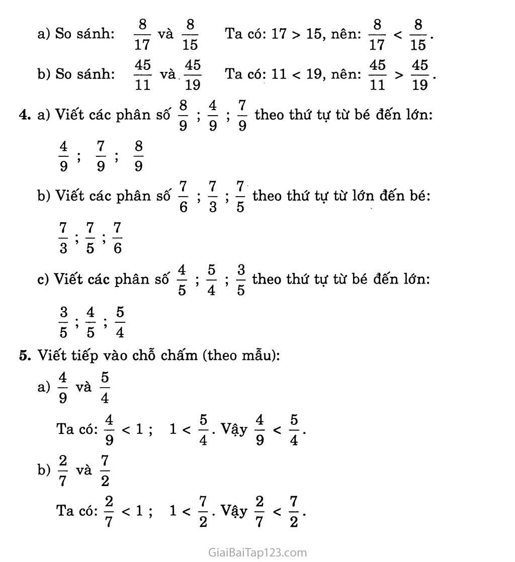 Bài 110: Luyện tập trang 3