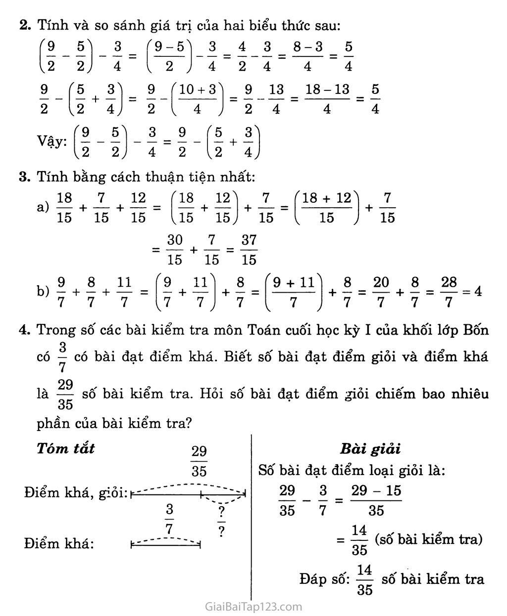 Bài 121: Luyện tập chung trang 2