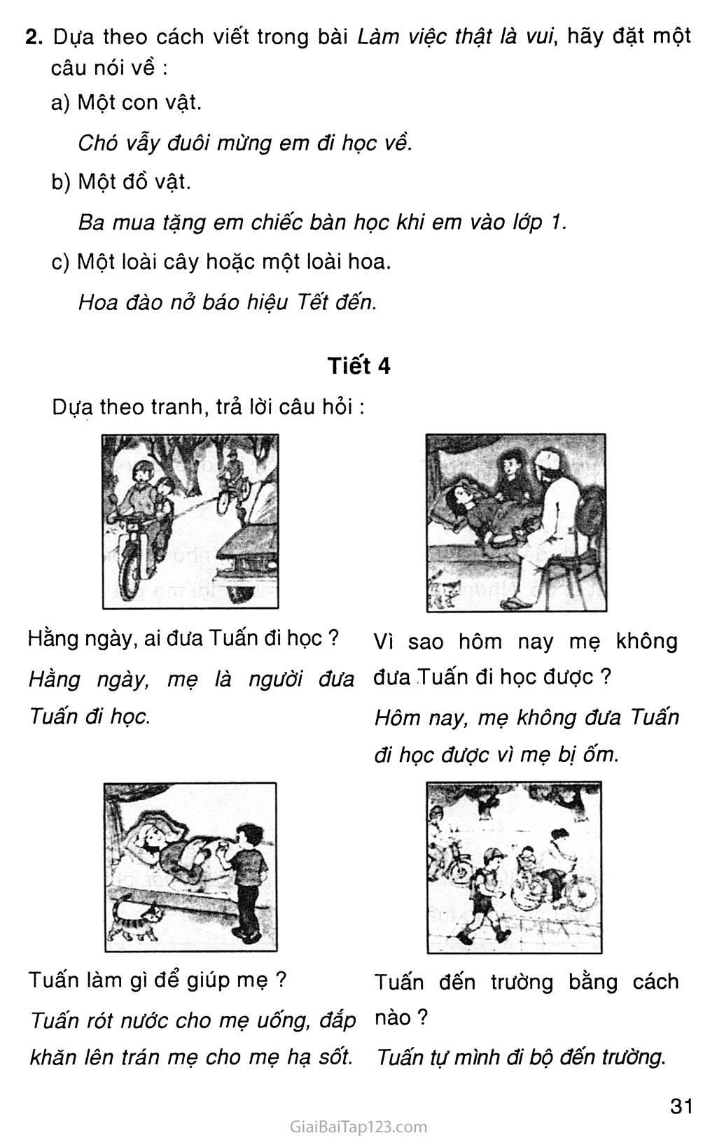 Tuần 9: Ôn tập giữa học kì I (*) trang 3