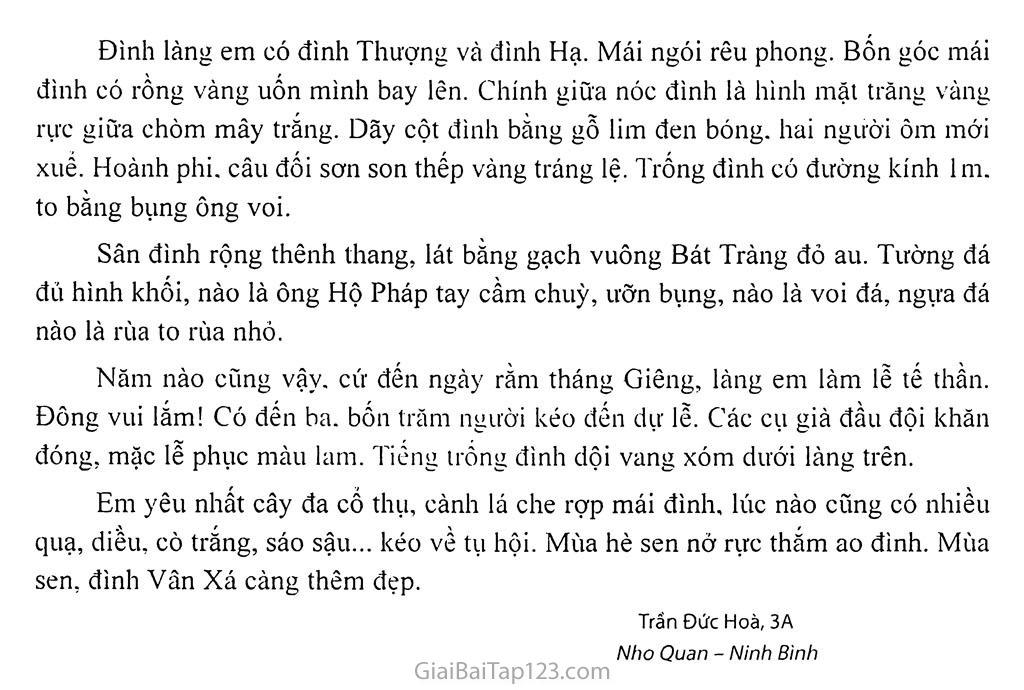 Bài số 91: Tả đình làng hay chùa làng em trang 2