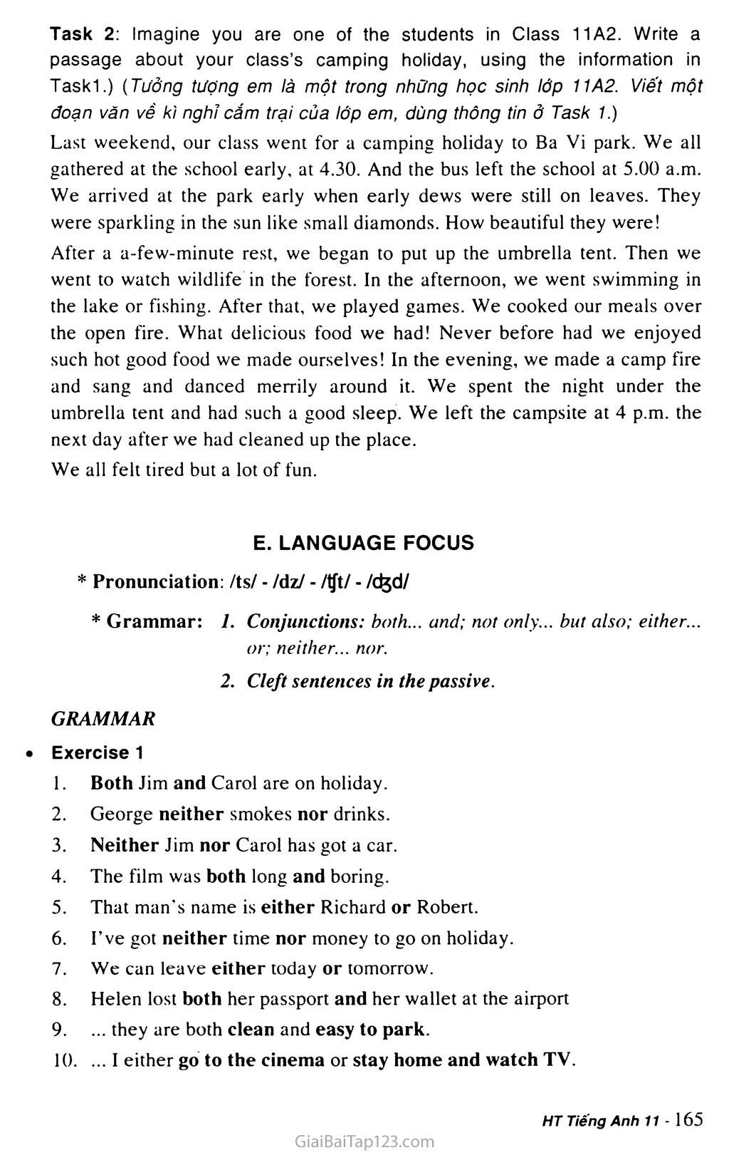 Unit 14: RECREATION trang 9