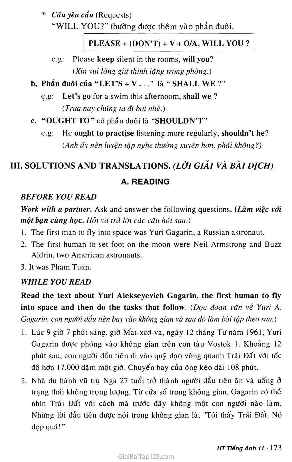 Unit 15: SPACE CONQUEST trang 6