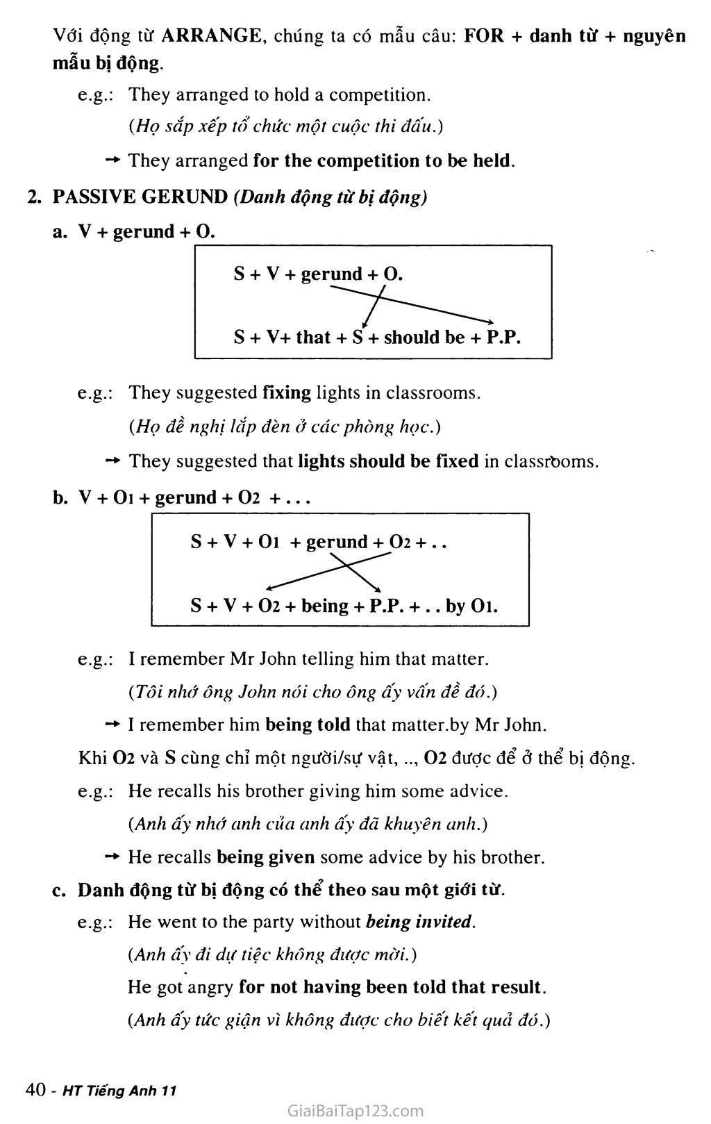 Unit 3: A PARTY trang 11