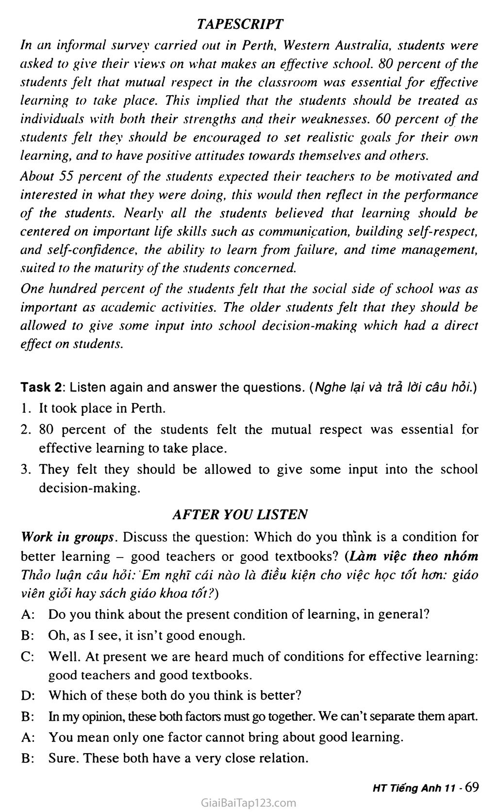 Unit 5: ILLITERACY trang 8