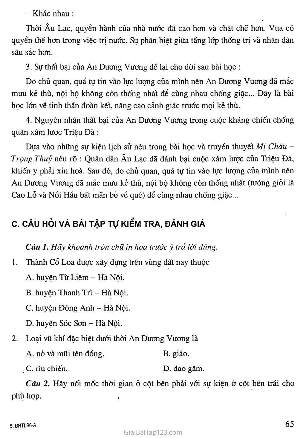 Bài 15: Nước Âu Lạc (tiếp theo) trang 4