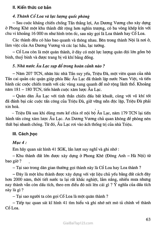 Bài 15: Nước Âu Lạc (tiếp theo) trang 2