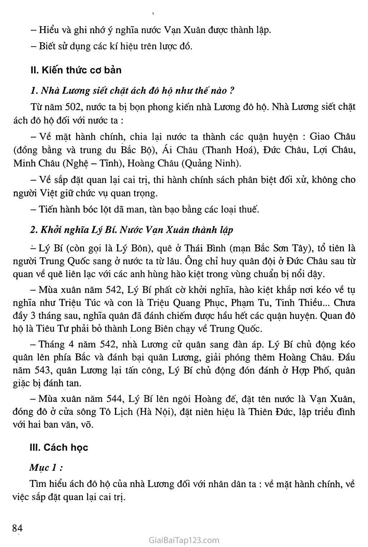 Bài 21: Khởi nghĩa Lý Bí. Nước Vạn Xuân (542 - 602) trang 2