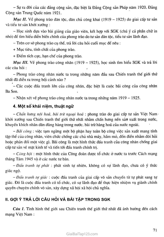 Bài 15: Phong trào cách mạng Việt Nam sau Chiến tranh thế giới thứ nhất (1919 - 1925) trang 3