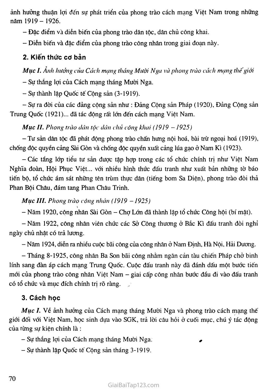 Bài 15: Phong trào cách mạng Việt Nam sau Chiến tranh thế giới thứ nhất (1919 - 1925) trang 2