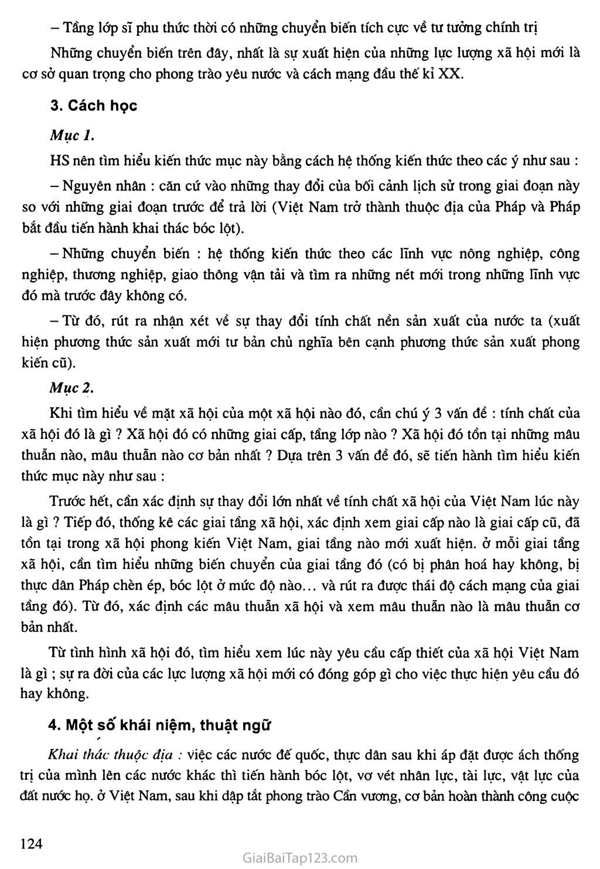 Bài 22: Xã hội Việt Nam trong cuộc khai thác lần thứ nhất của thực dân Pháp trang 3