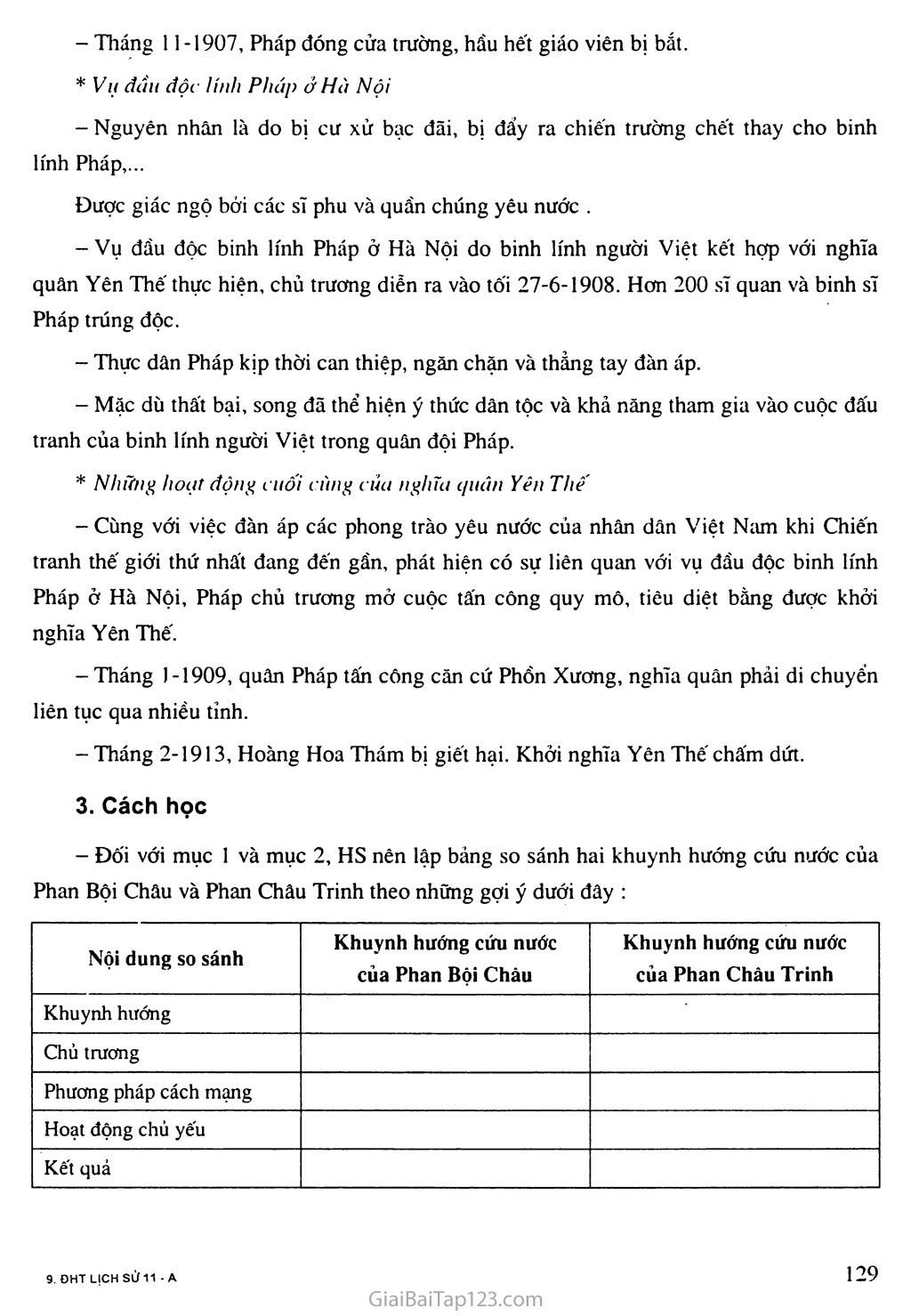 Bài 23: Phong trào yêu nước và cách mạng ở Việt Nam từ đầu thế kỷ XX đến chiến tranh thế giới thứ nhất (1914) trang 3