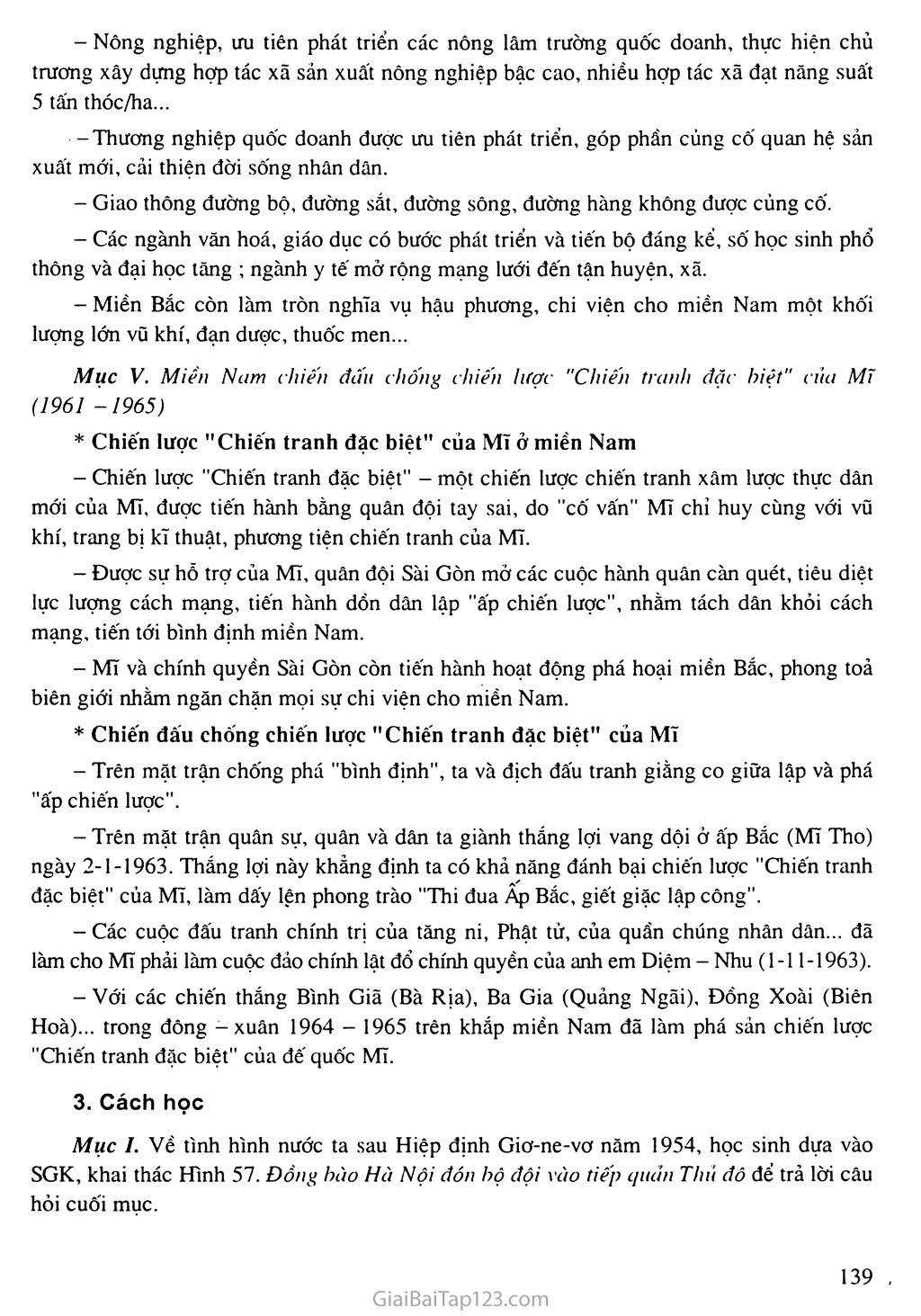 Bài 28: Xây dựng chủ nghĩa xã hội ở miền Bắc, đấu tranh chống đế quốc Mĩ và chính quyền Sài Gòn ở miền Nam (1954 - 1965) trang 4