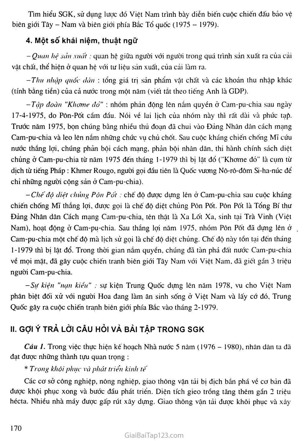 Bài 32: Xây dựng đất nước, đấu tranh bảo vệ Tổ quốc (1976 - 1985) trang 4