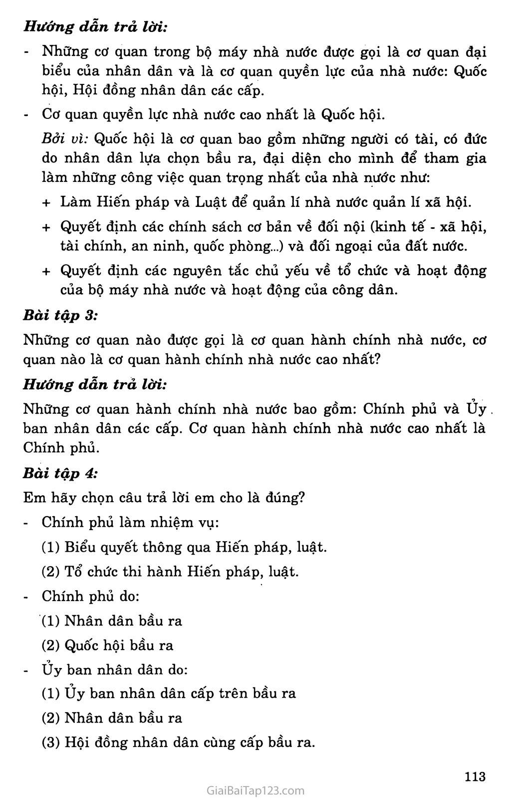 Bài 17: Nhà nước Cộng hòa xã hội chủ nghĩa Việt Nam trang 9