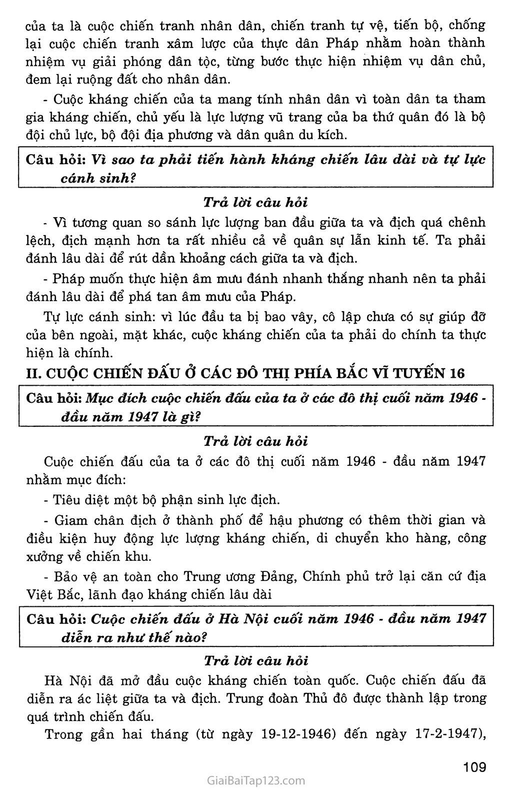 Bài 25: Những năm đầu của cuộc kháng chiến toàn quốc chống thực dân Pháp (1946 - 1950) trang 3