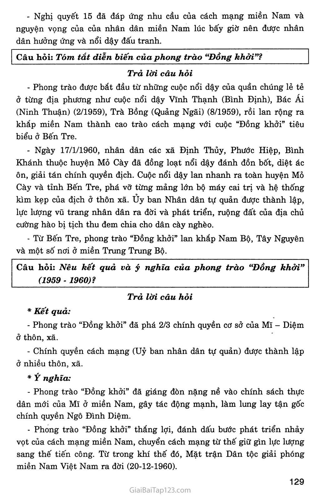 Bài 28: Xây dựng chủ nghĩa xã hội ở miền Bắc, đấu tranh chống đế quốc Mĩ và chính quyền Sài Gòn ở miền Nam (1954 - 1965) trang 5