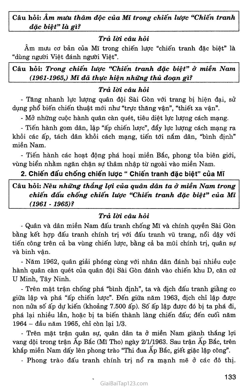 Bài 28: Xây dựng chủ nghĩa xã hội ở miền Bắc, đấu tranh chống đế quốc Mĩ và chính quyền Sài Gòn ở miền Nam (1954 - 1965) trang 9