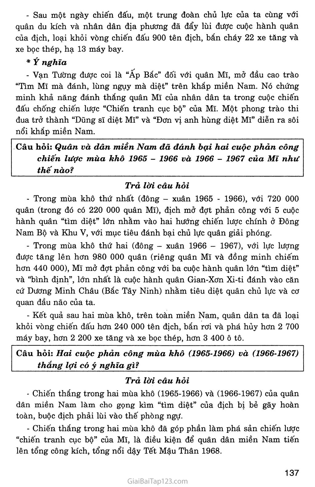 Bài 29: Cả nước trực tiếp chiến đấu chống Mĩ, cứu nước (1965 - 1973) trang 3