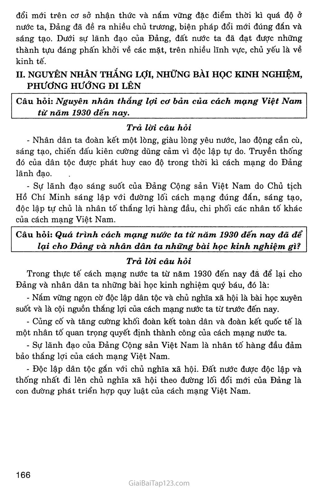Bài 34: Tổng kết lịch sử Việt Nam từ sau Chiến tranh thế giới thứ nhất đến năm 2000 trang 5