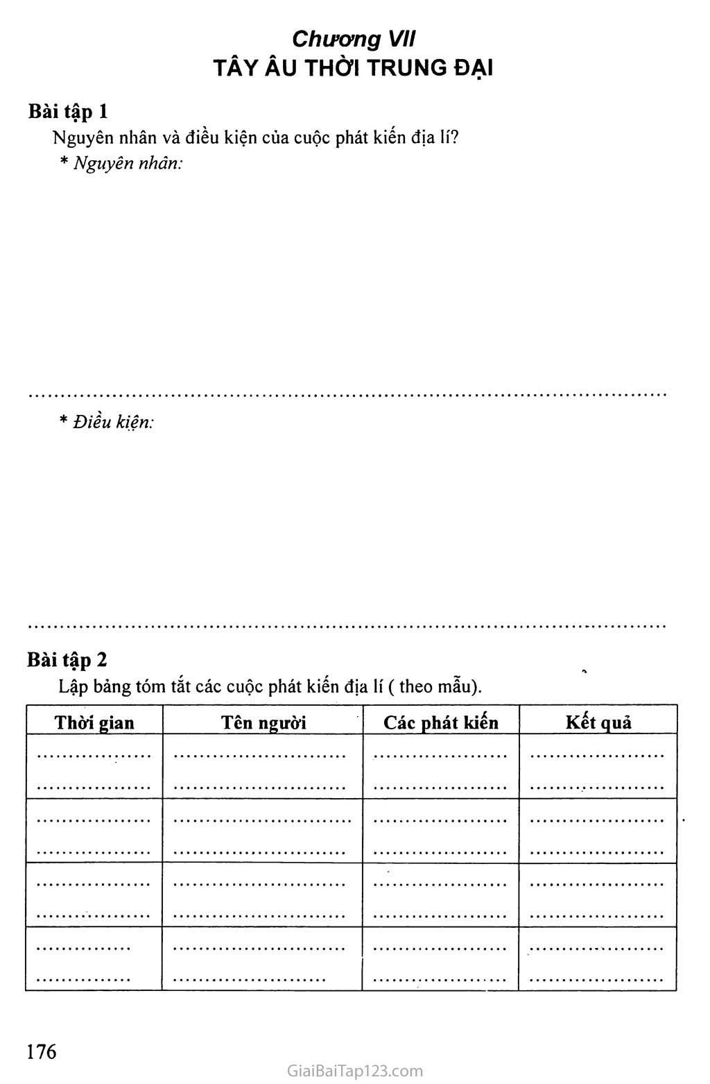 MỘT SỐ BÀI TẬP LỊCH SỬ HỌC SINH TỰ LÀM Ở NHÀ trang 18
