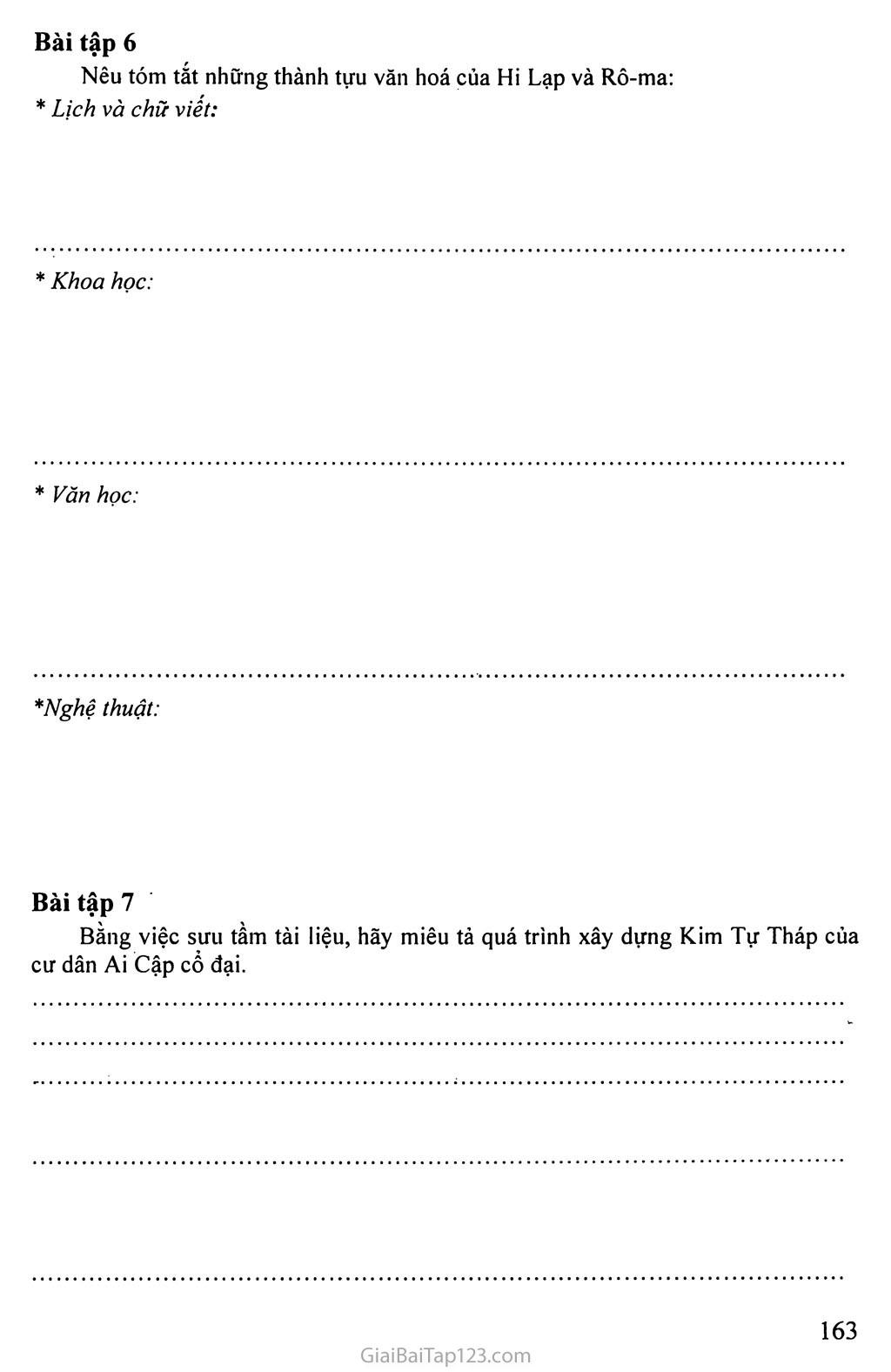 MỘT SỐ BÀI TẬP LỊCH SỬ HỌC SINH TỰ LÀM Ở NHÀ trang 5