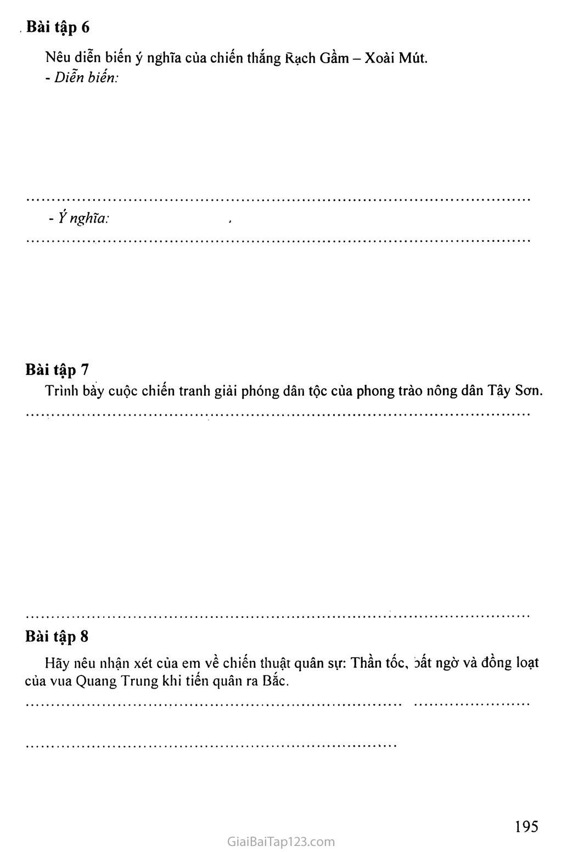 MỘT SỐ BÀI TẬP LỊCH SỬ HỌC SINH TỰ LÀM Ở NHÀ trang 37