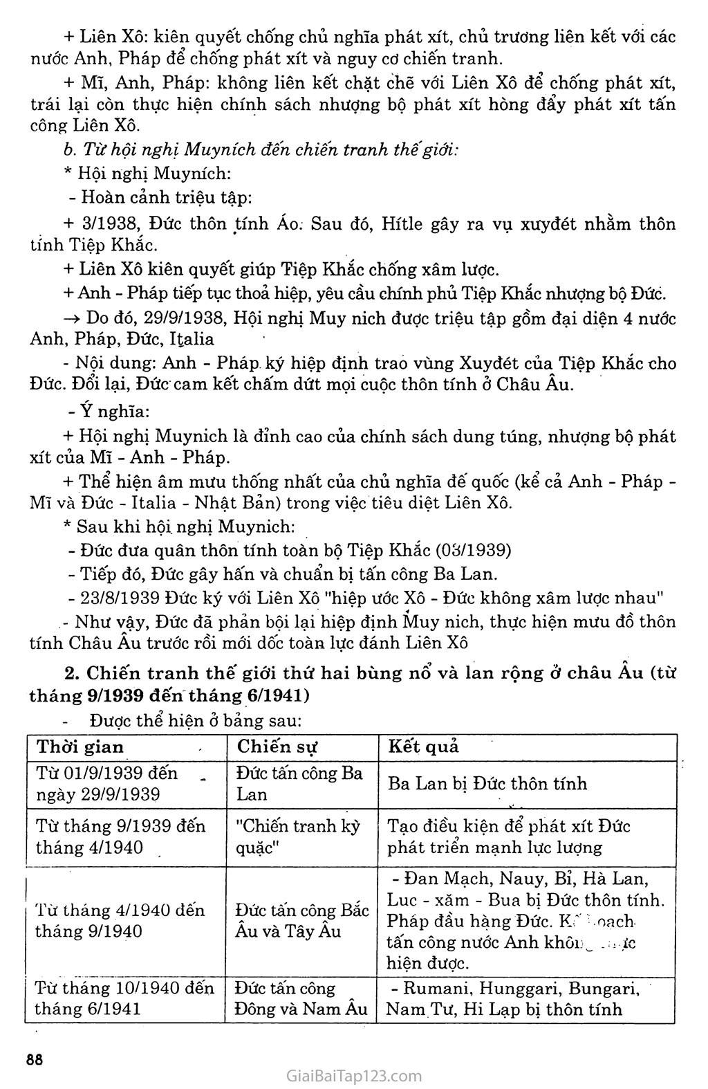 Bài 17: Chiến tranh thế giới thứ hai (1939 - 1945) trang 2