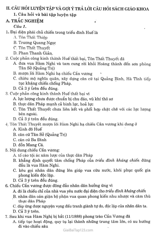 Bài 21: Phong trào yêu nước, chống thực dân Pháp của nhân dân Việt Nam trong những năm cuối thế XIX trang 5